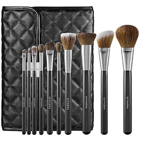 Lamica Complete Essential Set Makeup Brush Kuas Makeup sephora collection prestige luxe brush set reviews
