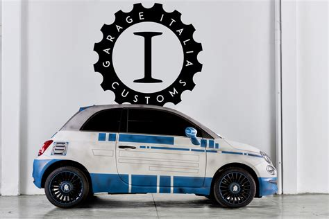fiat 500 r2 d2 and bb 8 by garage italia celebrate quot