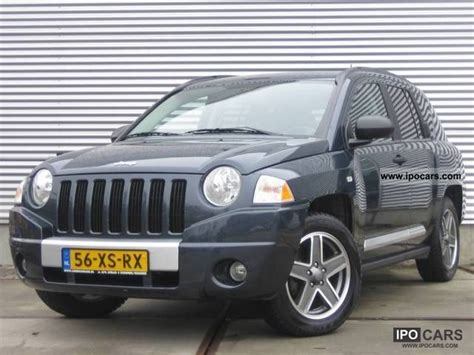 2006 Jeep Compass 2006 Jeep Compass 2 4i 16v Limited Aut Eight Dvd Wi Nw