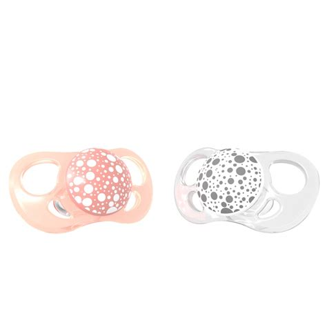 Paket Baby Pink twistshake silicone pacifiers 2 pack order from hippychick