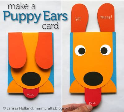 dog pop up card template birthday cards for to create how wee learn
