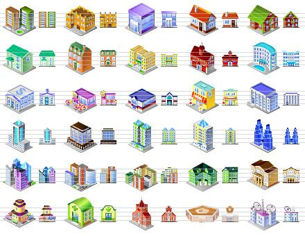 desktop building icons free download and software