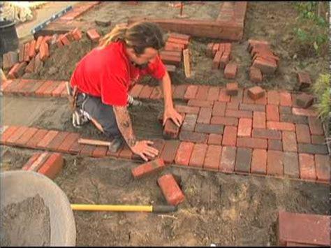 Laying Patio Bricks by Laying A Brick Patio Ornamental Grasses San