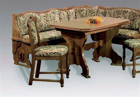 corner bench tables zwiesel oak corner bench breakfast booth nook kitchen nook
