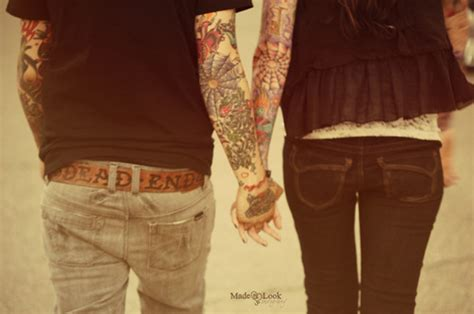 tattoo couple holding hands bunny making friends a short story bunny boo