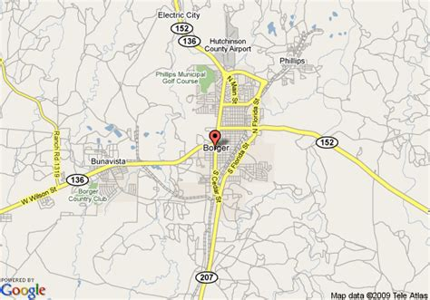 map of borger texas map of best western borger inn borger