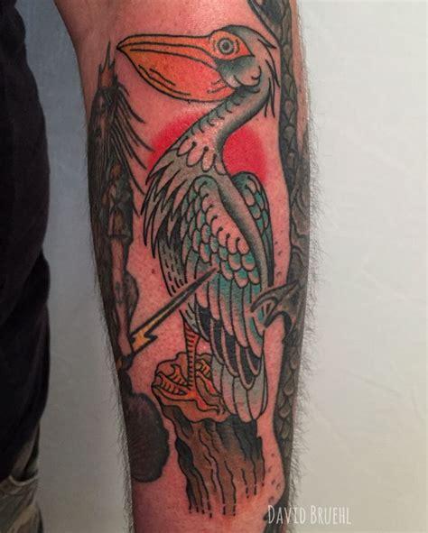 pelican tattoo 115 best david bruehl tattoos images on color