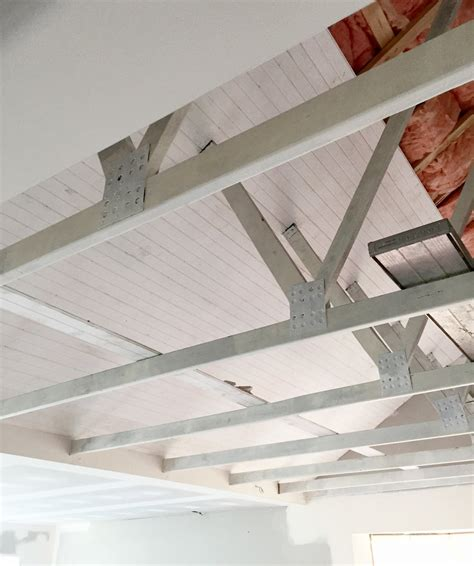 Lining Boards Ceiling by Want Exposed Beams In Your House Here S How