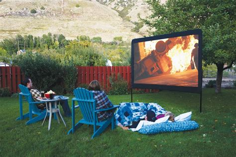 backyard theater screens backyard refuge