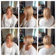 haircut before or after gym stacked bobs inverted bob and before after on pinterest