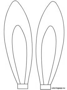 Bunny Ear Template Printable easter rabbit ears template easter rabbit