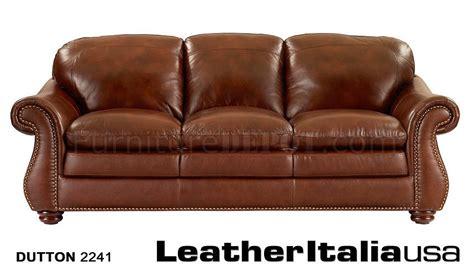 leather italia light brown hanover sofa loveseat set w