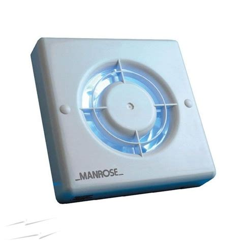 manrose xf100s 4 extractor fan no timer
