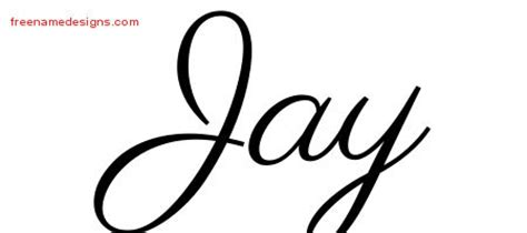 tattoo name jay free custom name tattoo design graphics to print