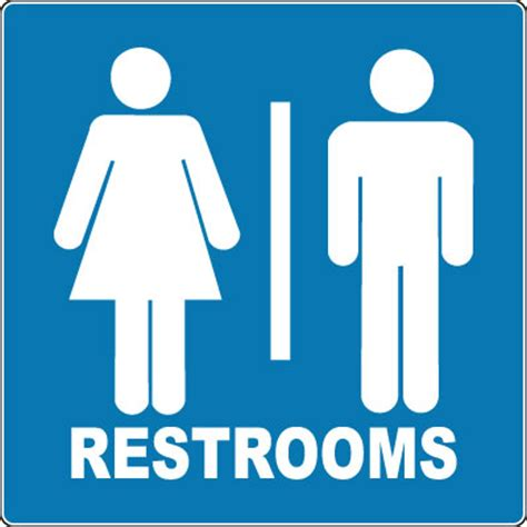signs for bathroom restroom sign unisex restrooms with symbol stonehouse