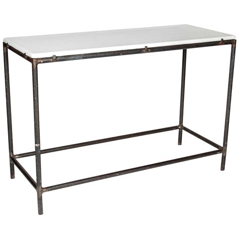 cast iron sofa table industrial cast iron console table for sale at 1stdibs