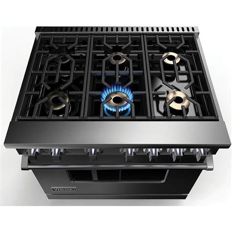 "36""W./24""D. Gas Sealed Burner Range 6 Burners Stainless"