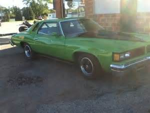 Pontiac Grand Lemans 1976 Find Used 1976 Pontiac Grand Lemans Base Coupe 2 Door 5 7l
