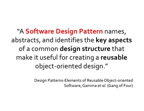 design pattern recovery in object oriented software patterns of enterprise application architecture by exle
