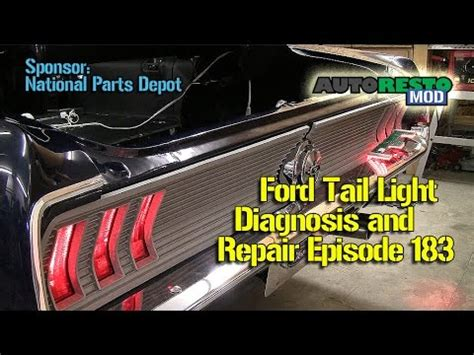 1969 Mustang Brake System Light Diagnose And Repair Ford Mustang Brake And Or Turn Signal