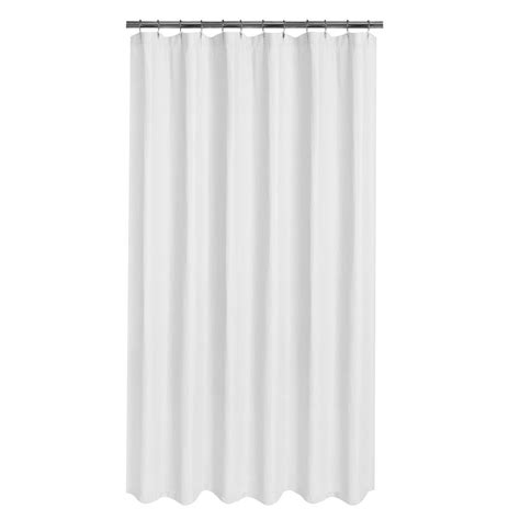 Waffle Shower Curtain by Glacier Bay Luxury Spa Waffle 70 In X 72 In Fabric