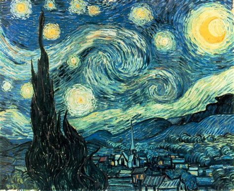 the most famous paintings starry night by vincent van gogh horseshoelucky