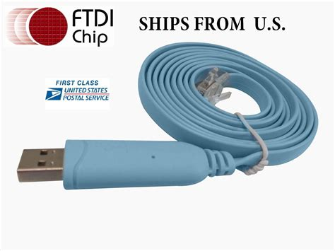 rs232 console cable ftdi usb rs232 to rj45 console cable cisco hp procurve