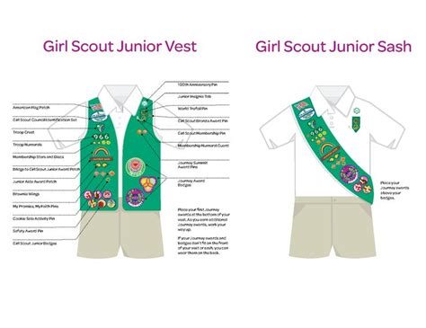 junior sash and vest 51 best images about my girl scouts on pinterest vests