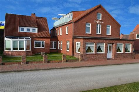 Pension Haus Frohsinn Und Ferienwohnungen Juist