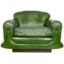 Overstuffed Lounge Chair Mod Overstuffed Green Leather Lounge Chair