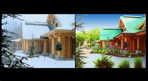 energy efficiency log homes energy effiecient hybrid log efficient log home north american log crafters