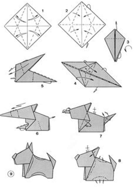dogs in origami 30 breeds from terriers to hounds books 1000 images about origami animals on