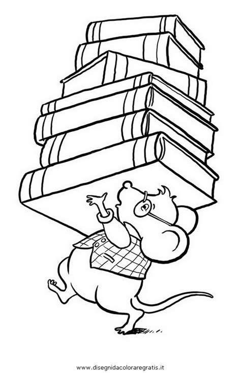 disegni di librerie disegno libreria 02 da colorare