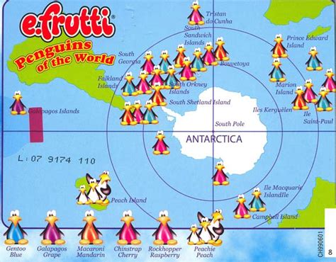 where do penguins live map chilly willy penguin place post