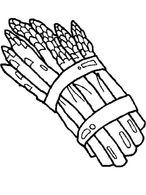 asparagus coloring page asparagus coloring pages download and print asparagus
