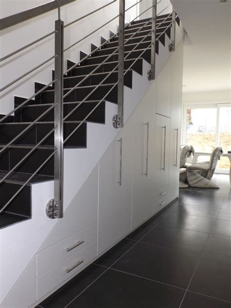 schuhregal unter treppe schuhschrank unter treppe modern flur stuttgart