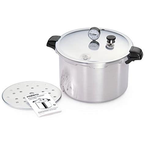 presto 16 quart aluminum pressure cooker walmartcom presto 1755 16 quart aluminum pressure cooker canner