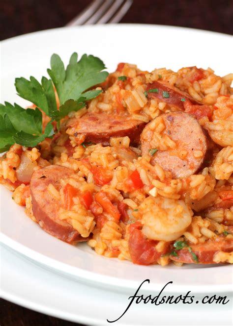 jambalaya with shrimp and andouille sausage recipe snobs