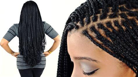 micro braids  beginners step  step youtube