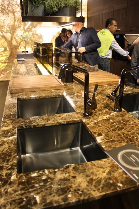 new kitchen sink styles new kitchen sink styles showcased at eurocucina modern diy