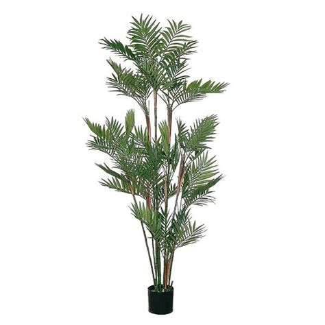 real looking artificial trees in the uk artificial parlour palm tree 176cm 5ft green real