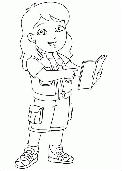 go diego go coloring pages coloringpagesabc com