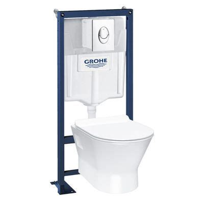 Wc Suspendu Grohe Castorama 7066 by Wc Castorama