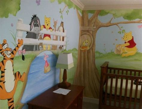 winnie the pooh themed bedroom 16 best images about baby on pinterest nursery murals