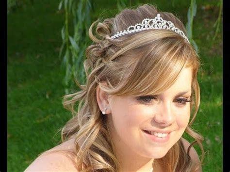 wedding hairstyles down youtube 25 elegant half up half down wedding hairstyles for 2014