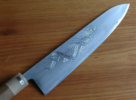 engraved kitchen knives japanese chef kitchen knife the cooking knife a sushi