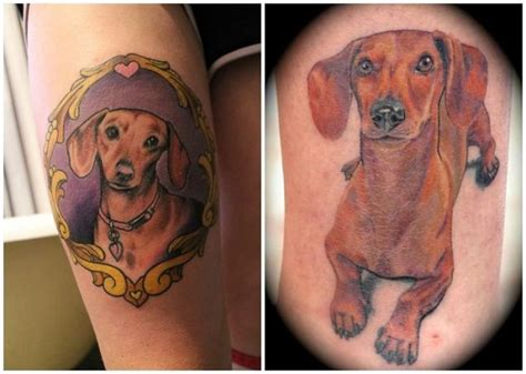 dachshund tattoos 17 best ideas about dachshund on