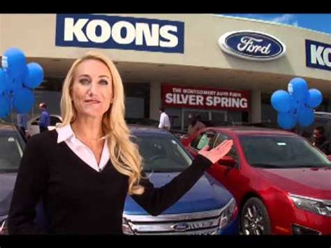 ford tv commercial april 2011 koons silver spring ford tv commercial youtube