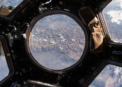 Cupola Iss by Looking Out Of The Space Station Cupola Spaceref