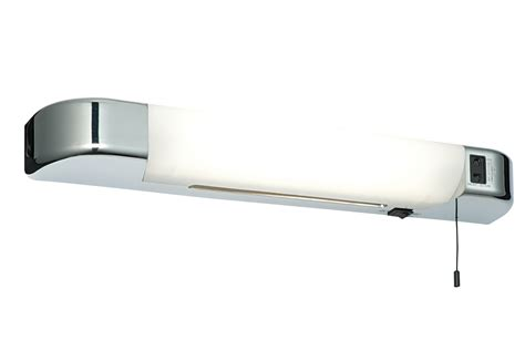 how to replace bathroom light pull cord saxby glint bathroom led shaver light mirror wall light